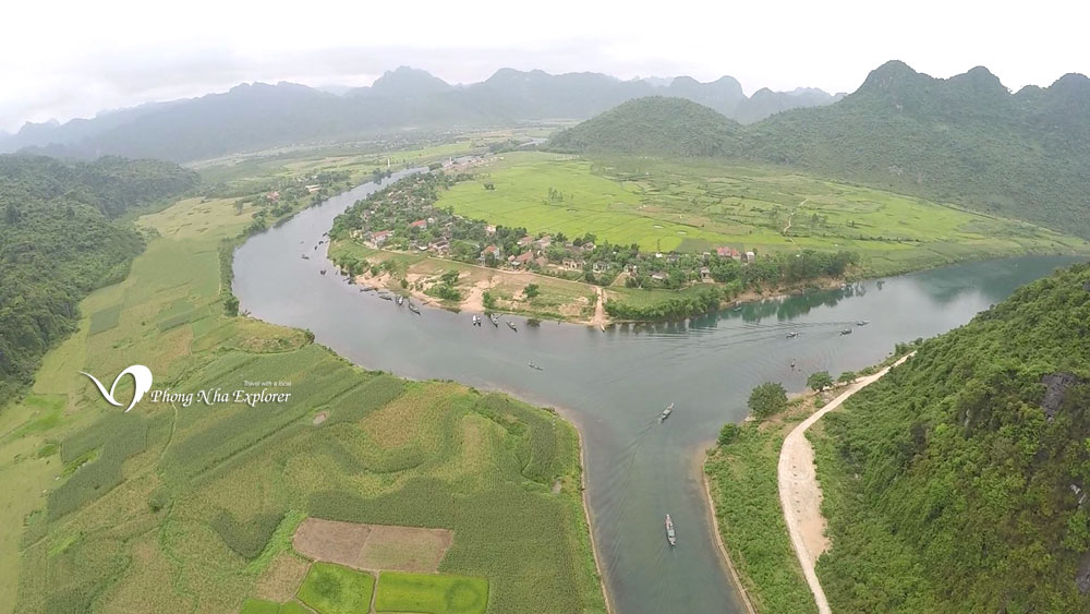 Hình ảnh phong nha kẻ bàng Ngã ba Sông Son