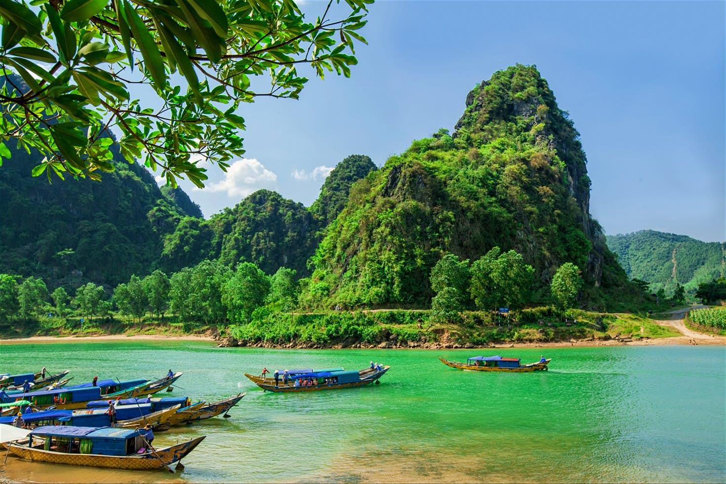 Phong cảnh hữu tình vườn quốc gia Phong Nha - Kẻ Bàng