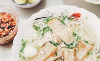 Cẩm nang du lịch Phan Thiết - Bánh canh chả cá Dì Lý