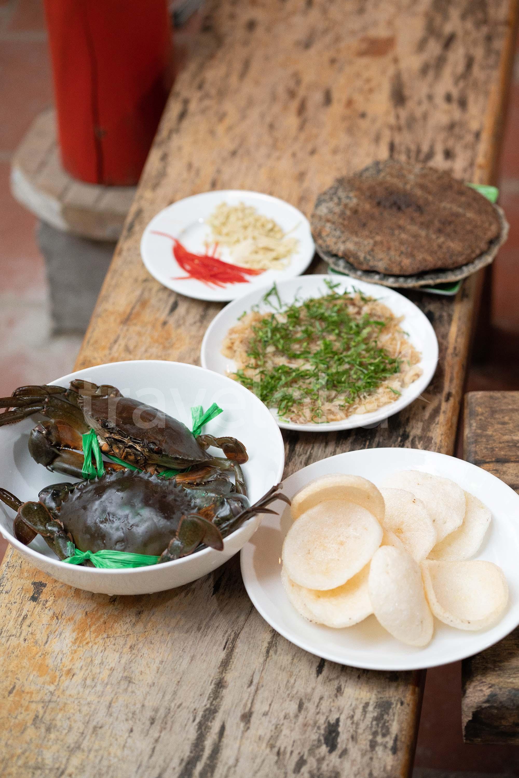 Cẩm nang du lịch Phú Quốc - Tiết canh cua