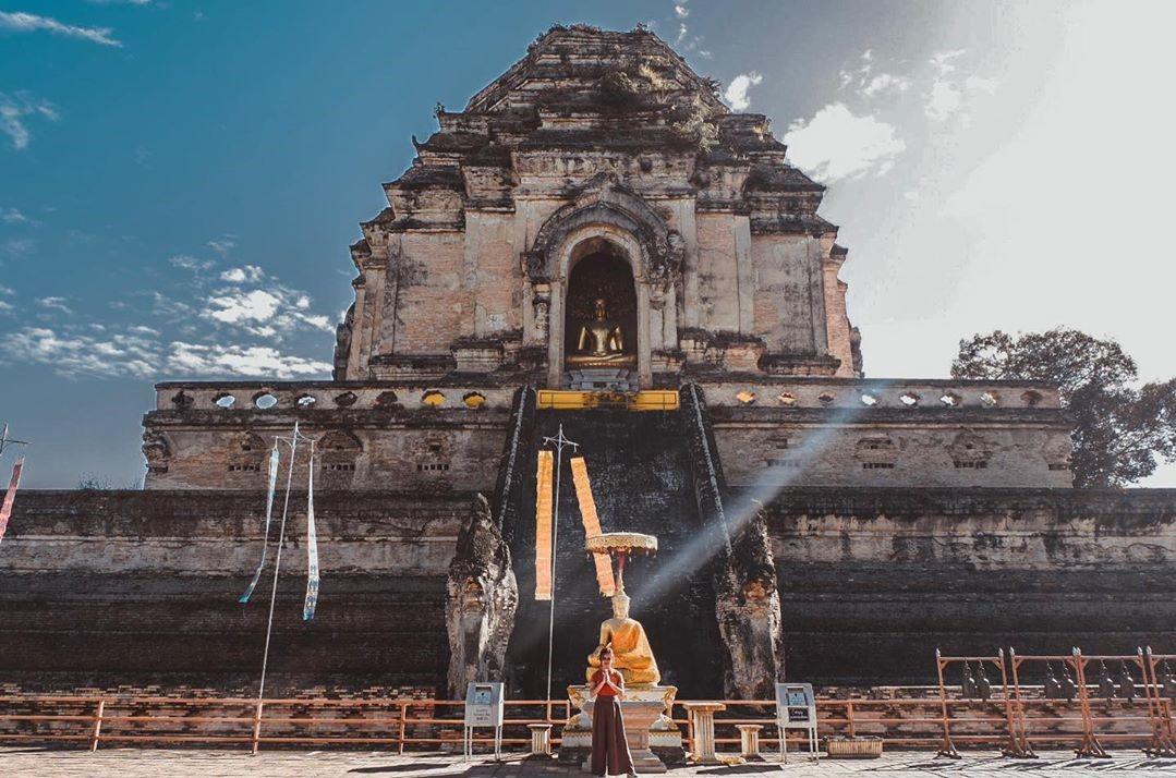 Kinh nghiệm đi Chiang Mai - Wat Chedi Luang