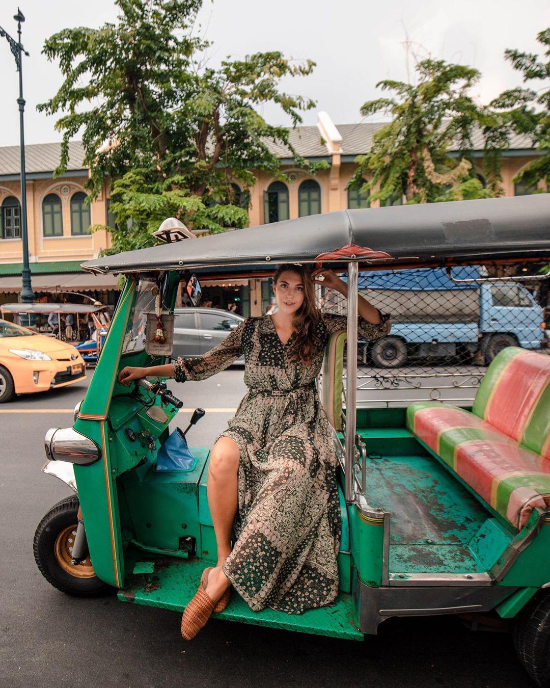 Kinh nghiệm đi Chiang Mai - Xe tuk tuk