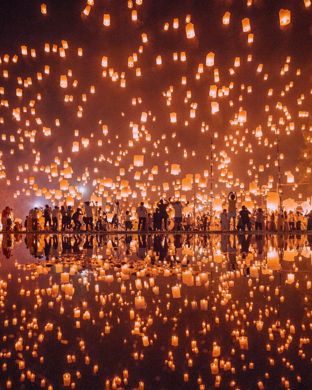 Kinh nghiệm đi Chiang Mai - Lễ hội thả đèn trời Yi Peng