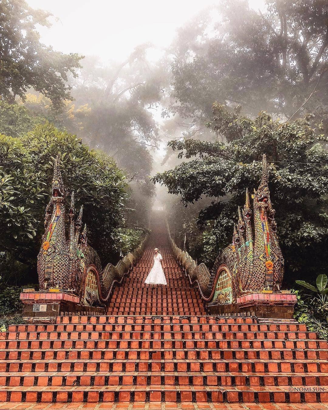 Kinh nghiệm đi Chiang Mai - Wat Phrathat Doi Suthep