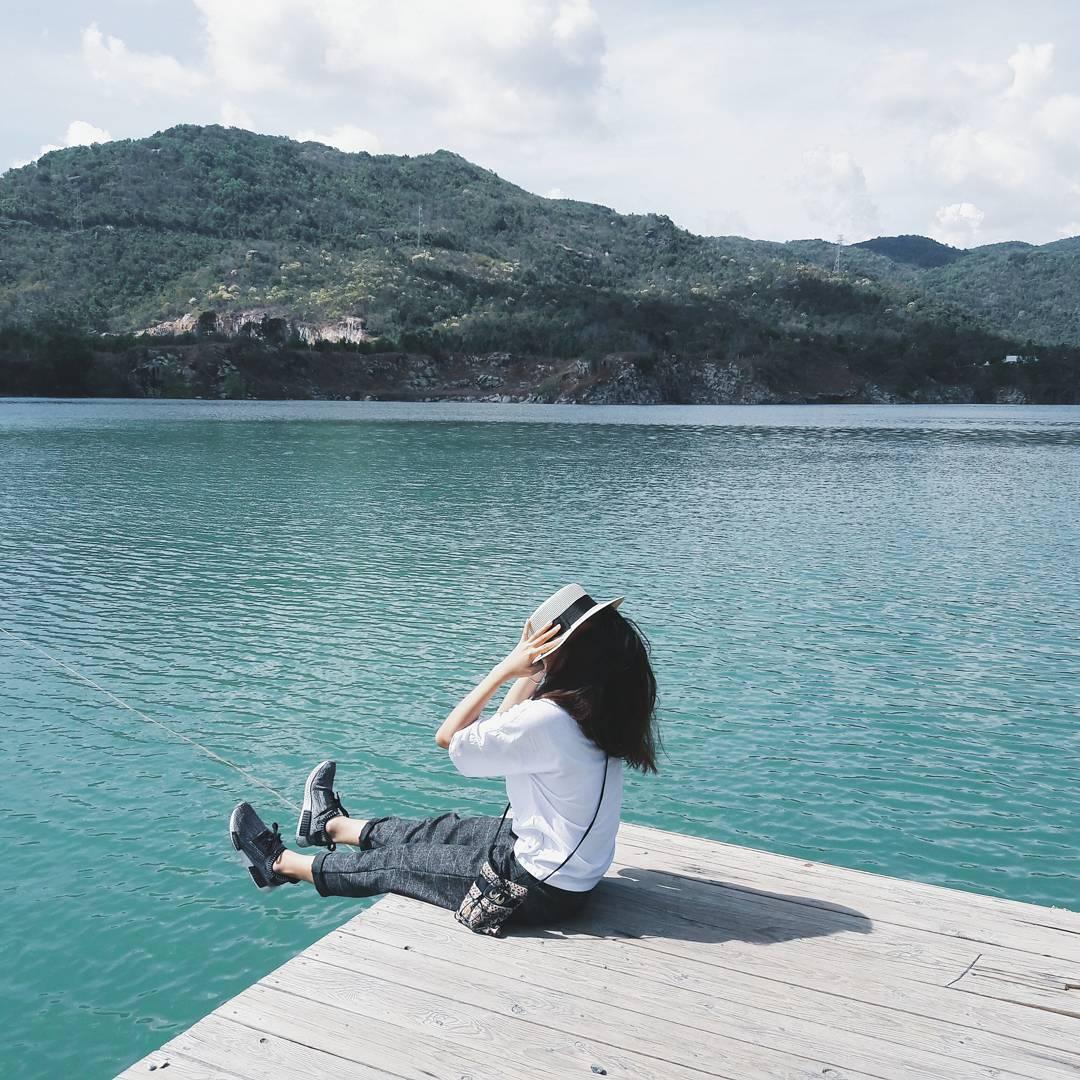 Kinh nghiệm đi Vũng Tàu - Hồ đá xanh