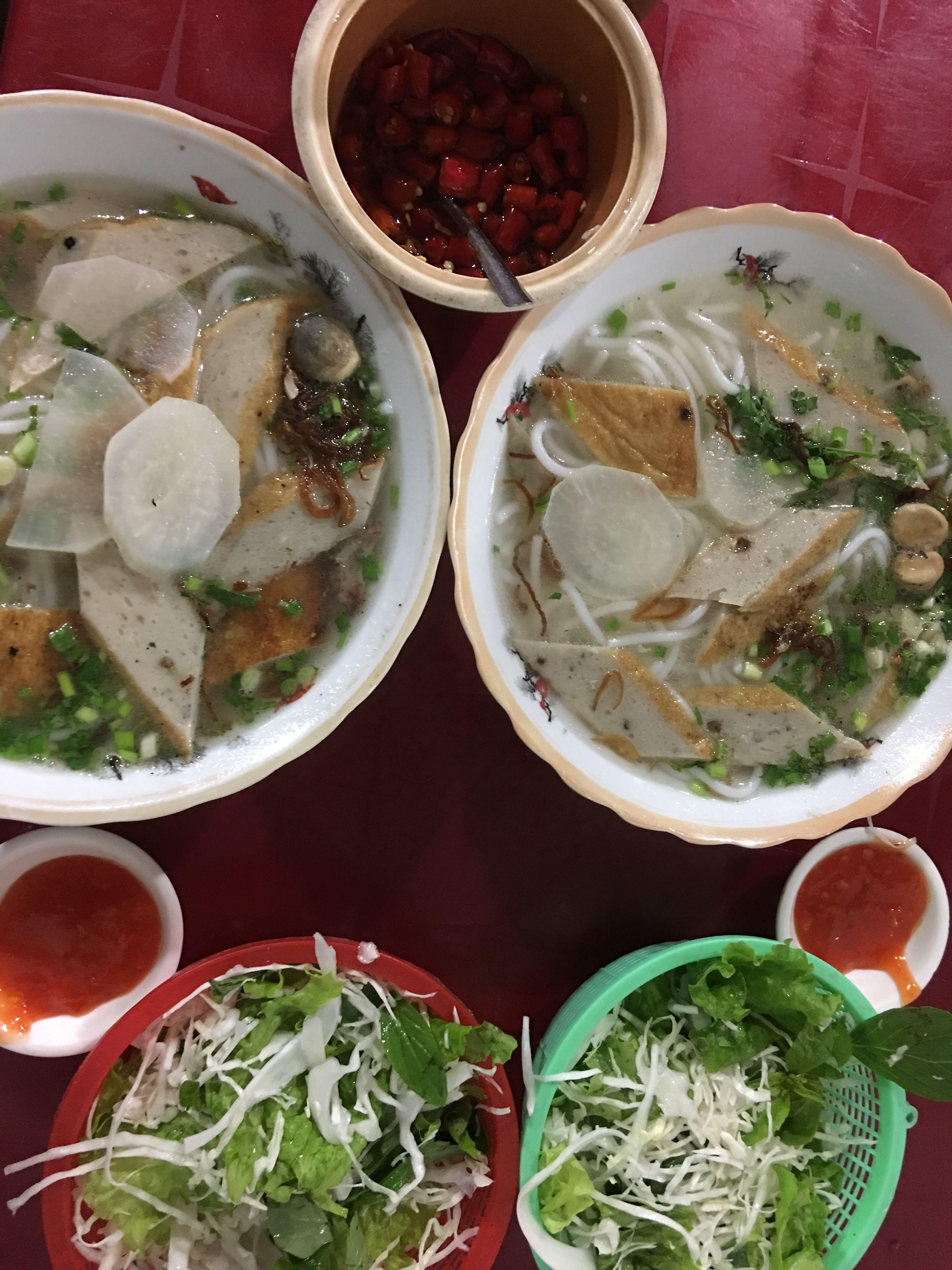 Kinh nghiệm du lịch Nha Trang - Bún cá