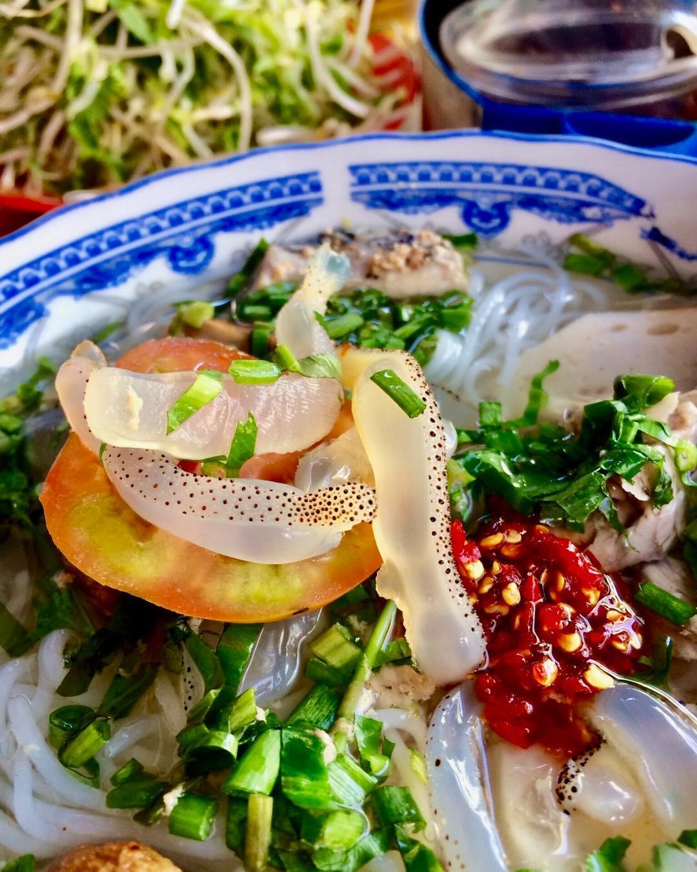 Kinh nghiệm du lịch Nha Trang - bún sứa