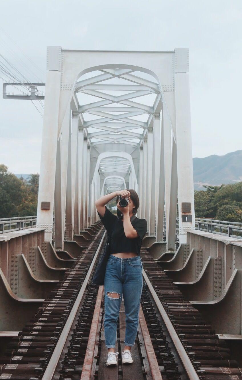 Kinh nghiệm du lịch Nha Trang - cầu sắt nha trang