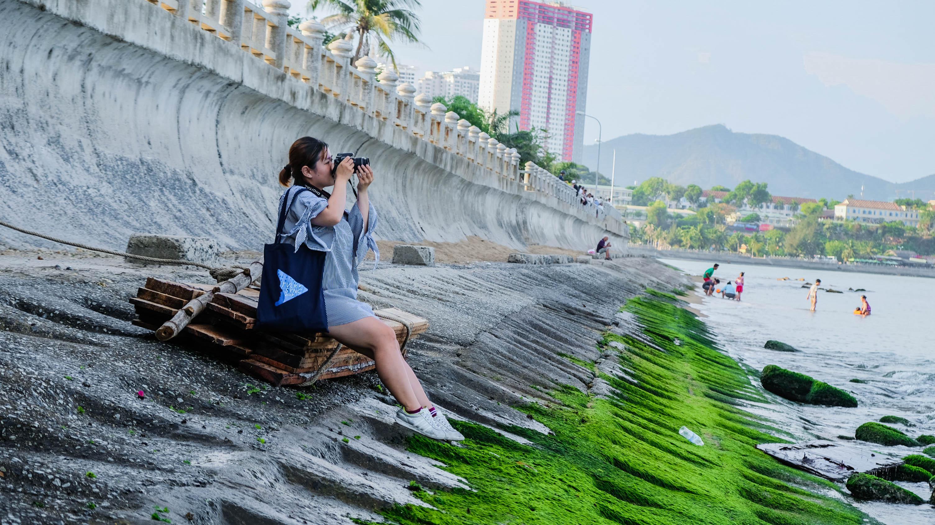 Kinh nghiệm du lịch Nha Trang - Bãi đá rêu