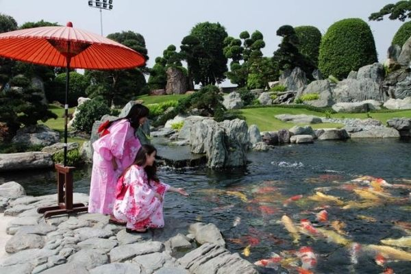 Địa điểm chụp hình đẹp ở Sài Gòn - Công viên Rin Rin Park