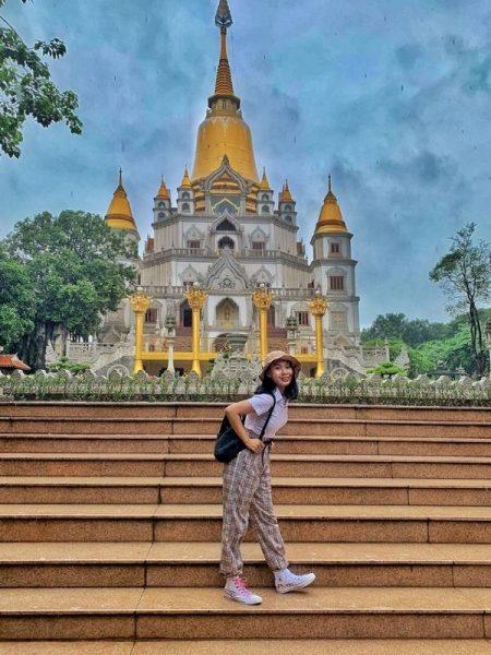 Địa điểm chụp hình đẹp ở Sài Gòn tại chùa Bửu Long