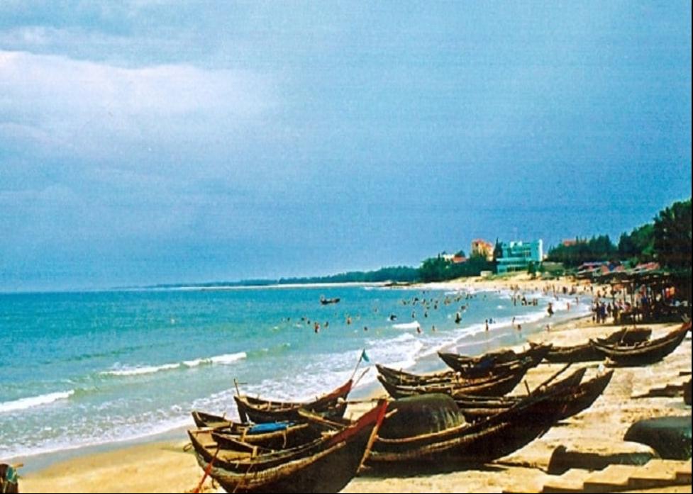Du lịch miền Trung với biển Hải Tiến