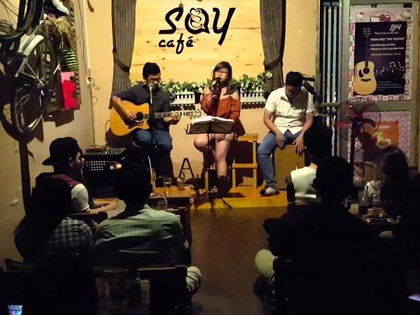 Say Cafe Acoustic - Top những quán nhạc chill hay nhất