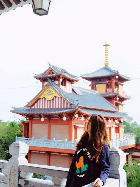 Tu viện Khánh An - Địa điểm chụp hình đẹp nhất
