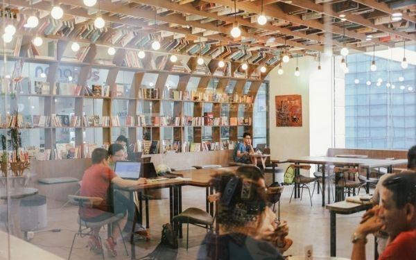 Work Cafe chi nhánh Hà Nội tuyệt đẹp