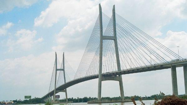 Cầu Mỹ Thuận điểm du lịch đẹp nhất Vĩnh Long