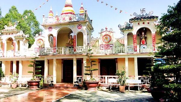 Chùa Tiên Châu có kiến trúc đẹp nhất tại Vĩnh Long
