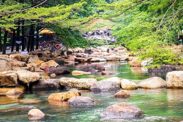 Đi chơi Bình Dương tại khu du lịch Thủy Châu
