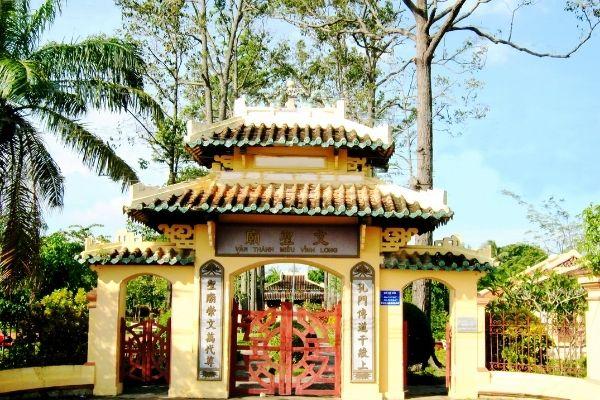 Văn Thánh Miếu - Di tích lịch sử tỉnh Vĩnh Long